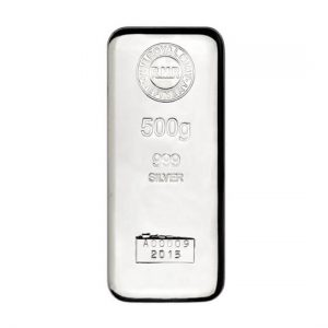 Crypto Cashback Coin Silver 500g silver bar cast large